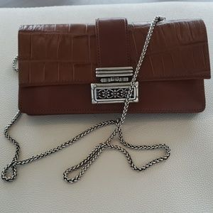 Leather wallet, cross body or just a wallet with r